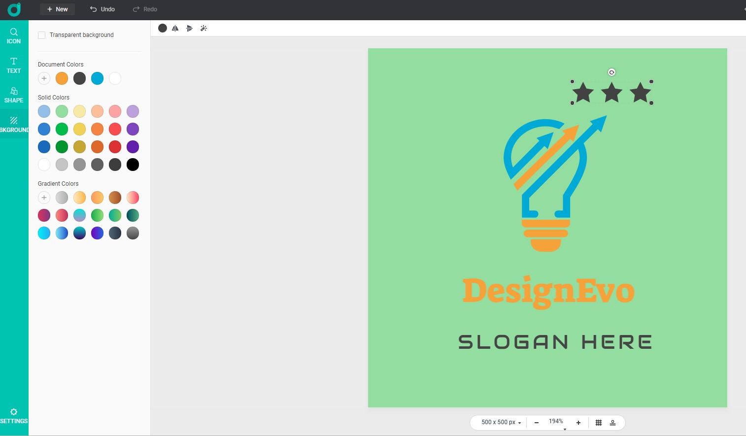 DesignEvo The Easiest Way to Design a Logo