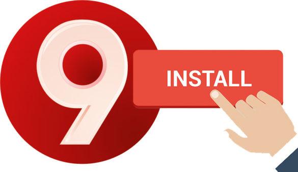 Install 9Apps Uptodown