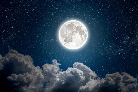 Full Blue Moon will appear next week