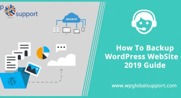 How To Backup WordPress WebSite 2019 Guide