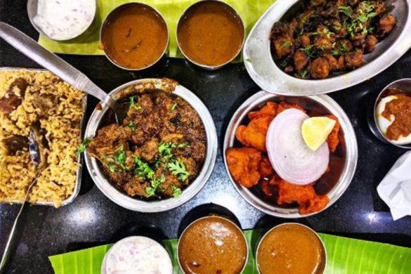 South Indian vegetarian restaurants