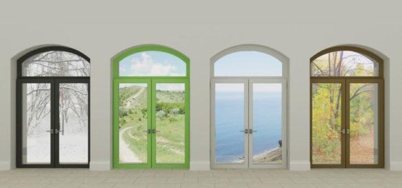 PVC Doors PVC Curtains
