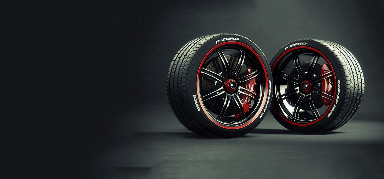 Tyre Banners Design for Website Ads