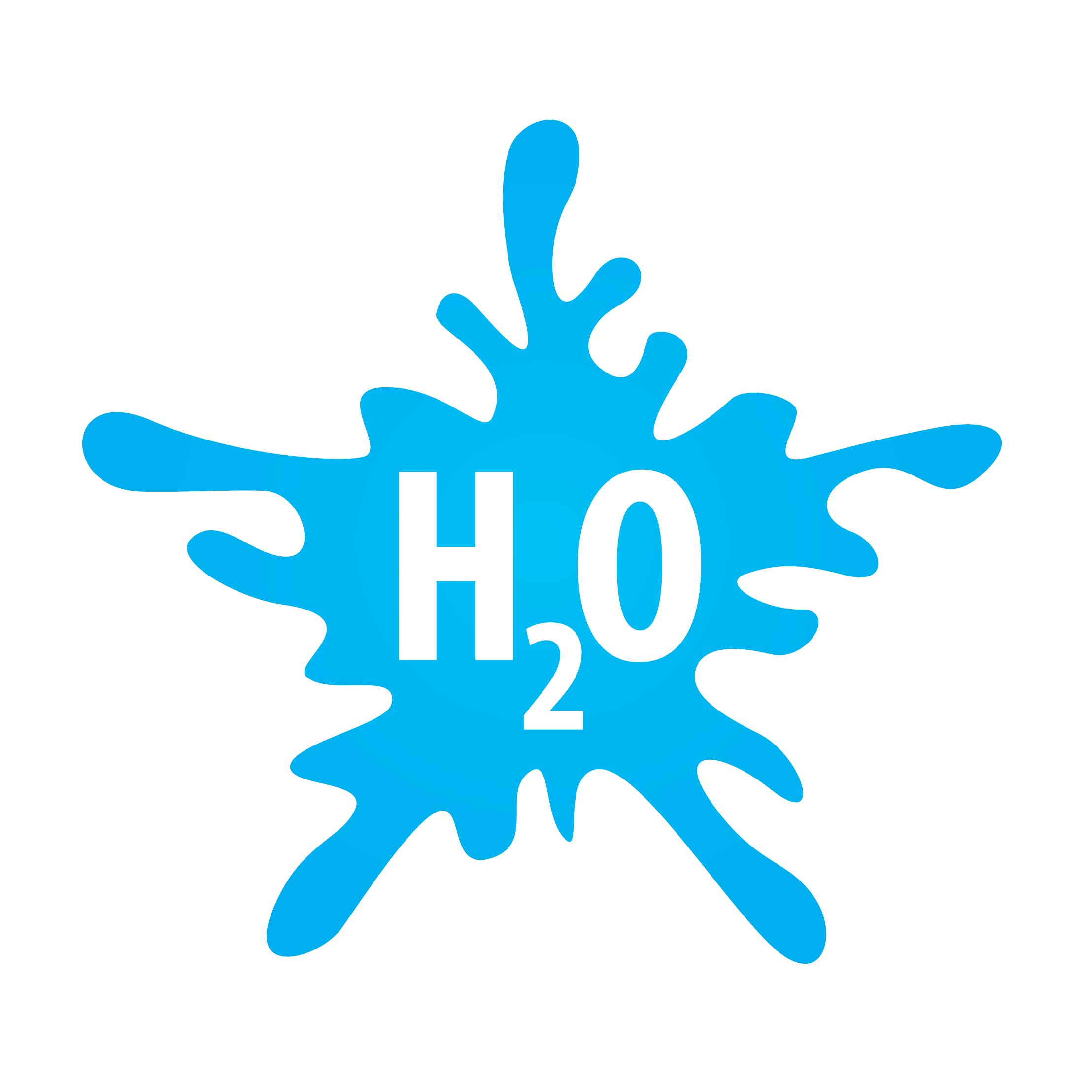 h2o-Water-Logo-Design