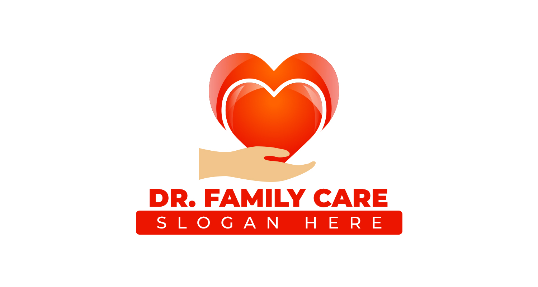 Free Doctor Logo Mockup PSD Design